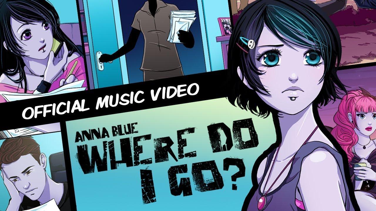 Anna Martinez Vidios Porno Hd anna blue- where do i go? (official music video)