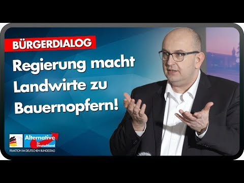 Regierung macht Landwirte zu Bauernopfern! - Stephan Protschka, AfD im Bundestag