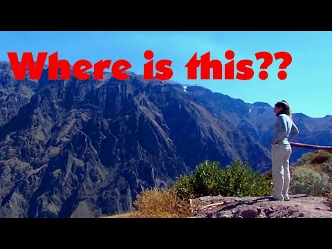 Where is the world's deepest canyon? HINT: It's not the Grand Canyon!
