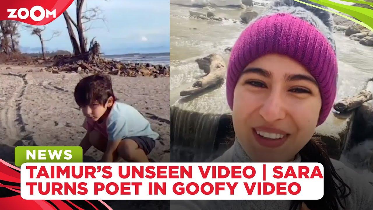 Kareena Kapoor shares Taimur's UNSEEN video playing on a beach | Sara's new Namaste Darshako video