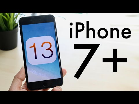 iOS 13 OFFICIAL On iPhone 7 Plus! (Review)
