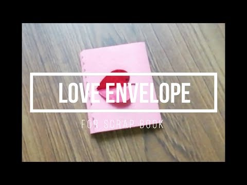 Easy Origami Valentine Note | DIY Valentine's Day Letter Folding Ideas | Simple Envelope