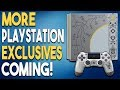MORE PlayStation EXCLUSIVES Coming! 3 NEW PS4 Remasters CONFIRMED!