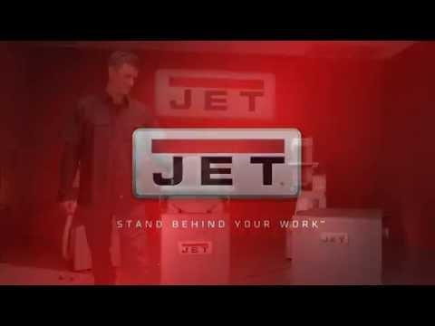 JET 12-inch Industrial Finishing Machine Demo