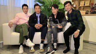 【娛樂專訪】林峯、鄭嘉穎、譚耀文宣傳主演電影《P風暴》