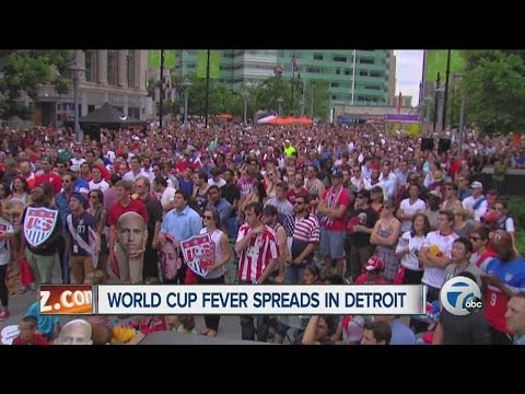World Cup fever spreads in Detroit