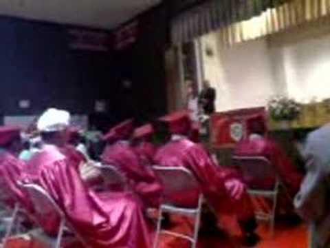 Air Horns @ Holy Child Jesus School Graduation 2008