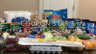 FREE & CHEAP GROCERY HAUL - February 10th 2017 - COUPONING IN CANADA!(SAVED OVER 60% ON THIS GROCERY HAUL USING A COMBINATION OF PRICE MATCHING, COUPONS & APPS! WATCH FOR DETAILS!! AND DON'T ..., 2017-02-10T22:42:16.000Z)