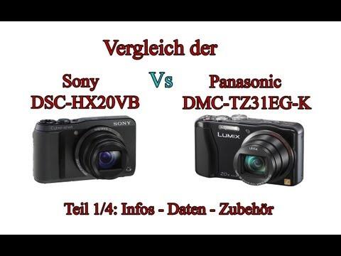 """Vergleich der """"Sony Cyber-shot DSC-HX20V"""" mit der """"Panasonic Lumix DMC-TZ31"""" -Teil 1/4-"""