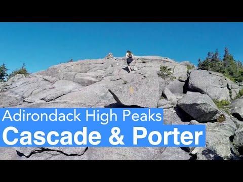 Hiking Cascade Mountain and Porter Mountain - High Peaks Adirondacks on