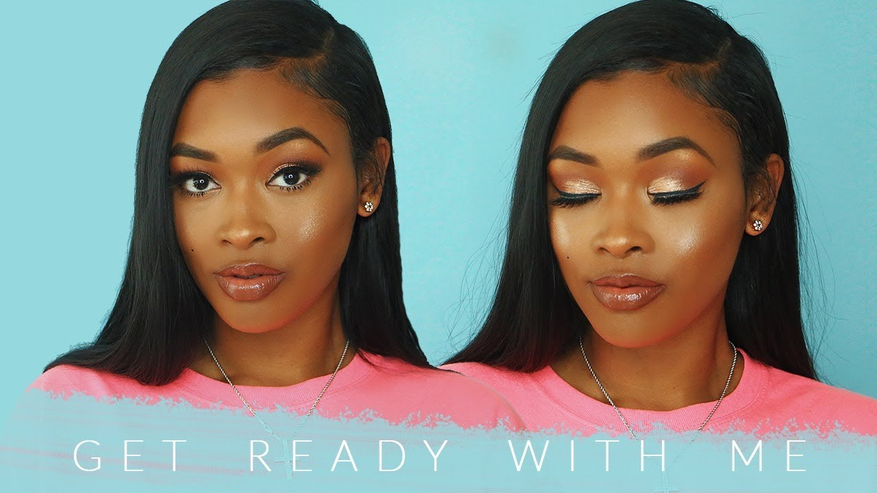 Get Ready With Me Glam Edition ft. The Miracle Tresses