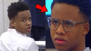 Tay-K Cries And Sentenced To 55 Years In Prison