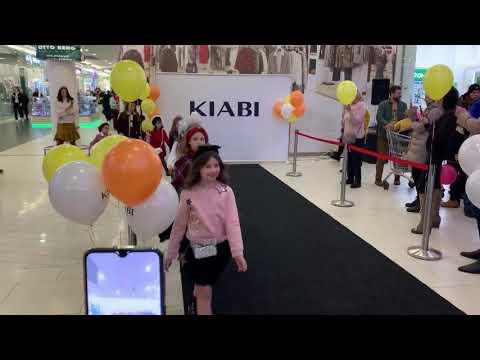 Показ детской одежды магазина Киаби