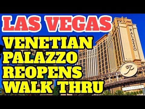 Las Vegas Venetian Palazzo Reopen Walk-Thru | Lets Do This!