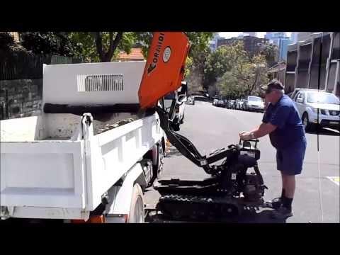 Cormidi 500kg Mini Dumper - High Tip Into Truck
