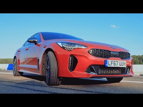 Kia Stinger Walkaround | Top Gear