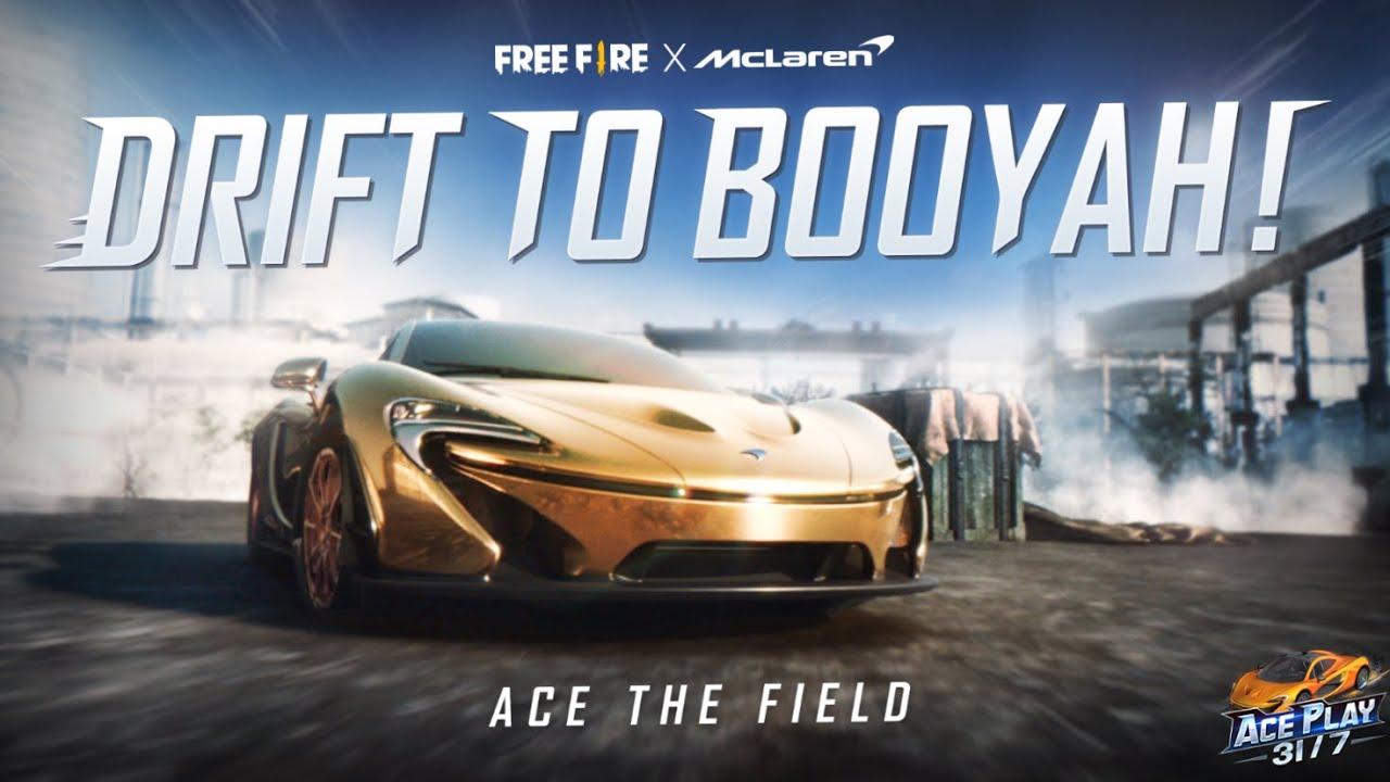 Drift To Booyah   সম্পূর্ণ ভিডিও   Free Fire x McLaren