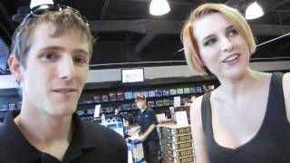 XFX Girl Rika Interview at NCIX First Markham Place Grand Opening Linus Tech Tips