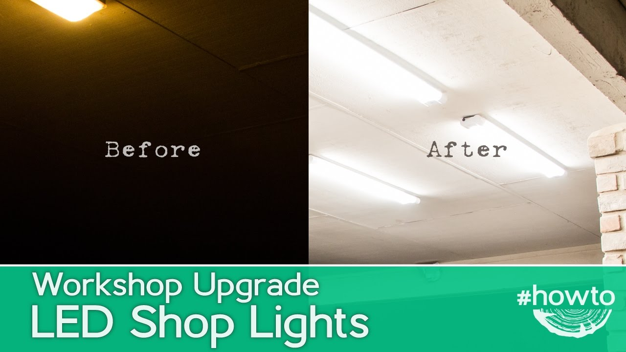 Easy Led Easy Led Shop Light Upgrade