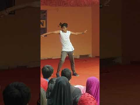 Madam kajal wali song Rap song dance SPDT with Bagal ka college JP Nagar