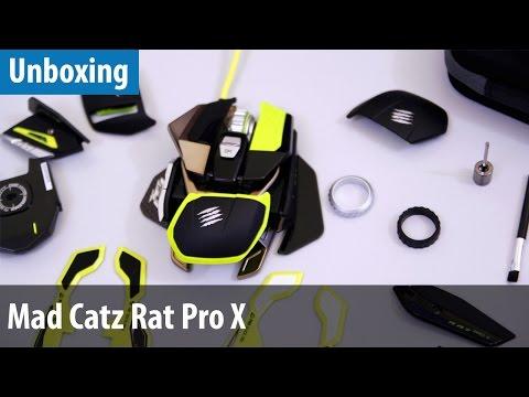 Die modularste Maus der Welt - Mad Catz Rat Pro X im Unboxing   deutsch / german