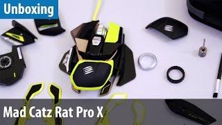 Die modularste Maus der Welt - Mad Catz Rat Pro X im Unboxing | deutsch / german