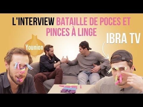 YOUNION - Ibra TV - L'interview bataille de poces !