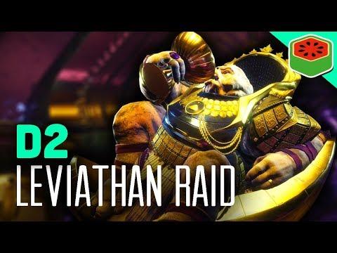 COMPLETE LEVIATHAN RAID!  | Destiny 2 - The Dream Team