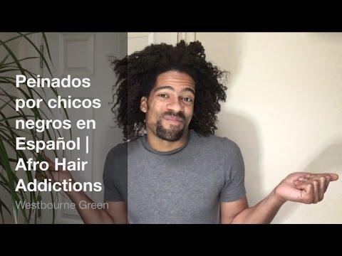 Peinados afro para hombre