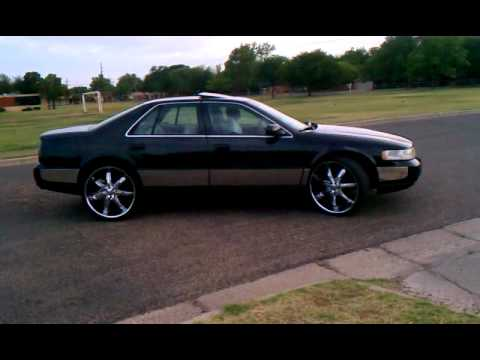 Black Cadillac Sts On 24 S Youtube