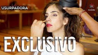 DETRÁS DE... Make Up de Paola | La Usurpadora | Las Estrellas