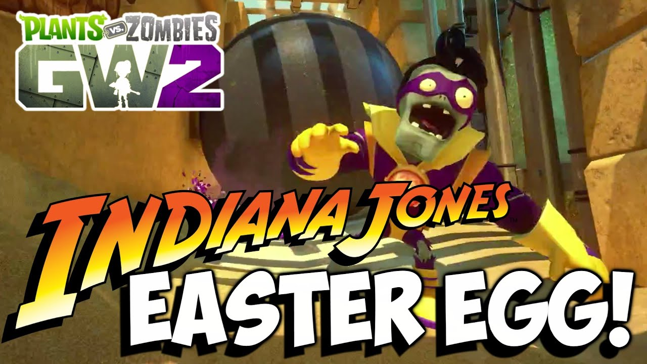 Indiana Jones EASTER EGG on Seeds of Time! | Plants vs Zombies ...