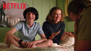 Stranger Things | Bloopers - Temporada 3 | Netflix