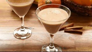 Pumpkin Spice Recipes - How To Make A Pumpkin Spice Martini