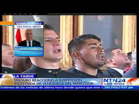 """""""Para estar en Mercosur hay que optar por la democracia"""": Canciller de Paraguay"""