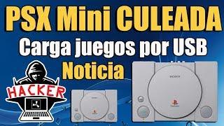 PSX MINI Culeada por Completo   Carga Juegos desde USB