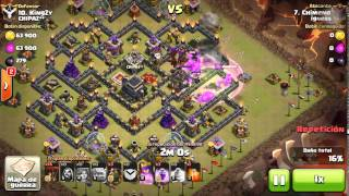 [Clash of Clans] | Shattered Laloon | TH9 | 3stars #020