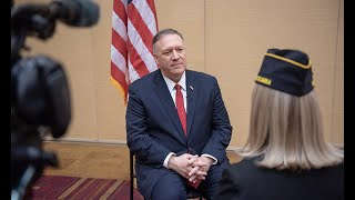Pompeo speaks to The American Legion