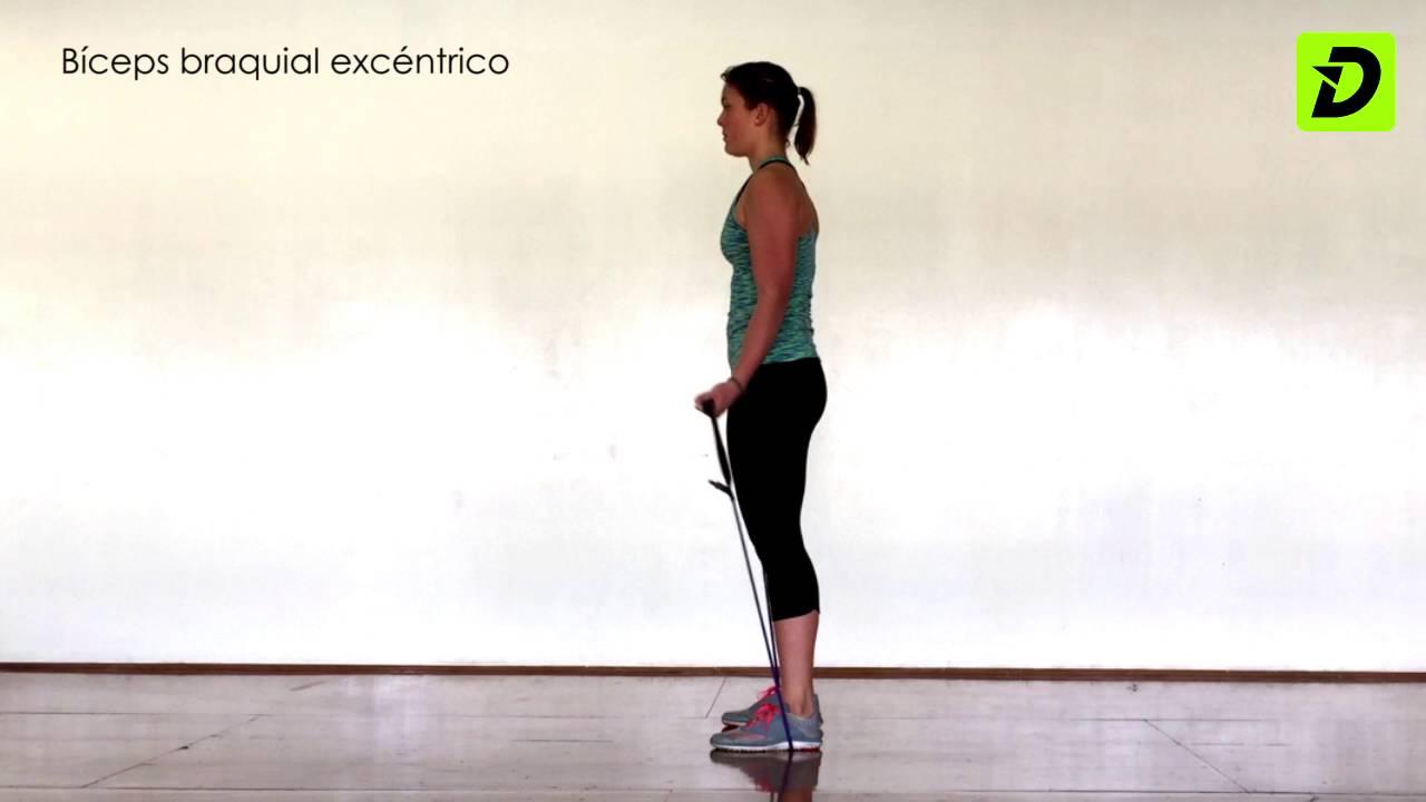 ejercicio excentrico para triceps sural