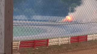 Fatal Green Mamba Jet Car Crash!