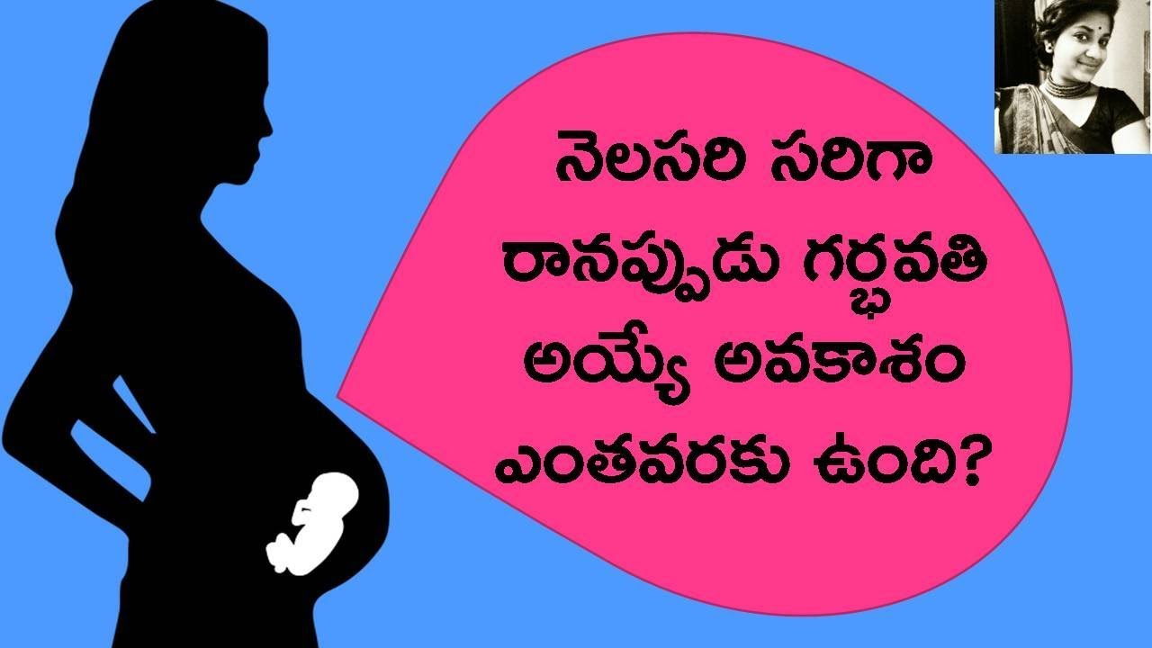 How To Control Irregular Periods In Telugu Pregnancy In Irregular Periods Chances Health Tips Telugu Youtube