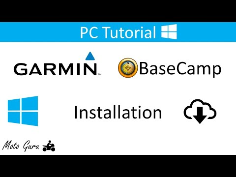 How to download and install Garmin Basecamp