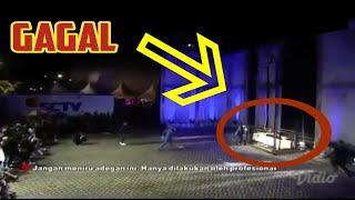 """DETIK-DETIK """"asisten"""" DEMIAN TERJATUH (Viral)"""