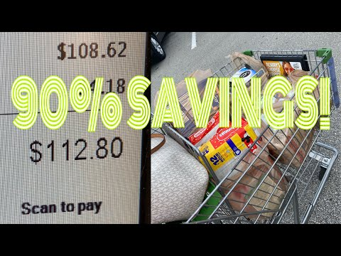 Extreme Couponing at Publix!!! | Saved over 90%!! | So Many Freebies!!!!!