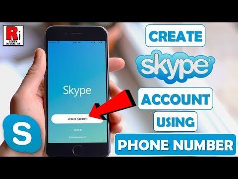 CREATE SKYPE ACCOUNT USING PHONE NUMBER