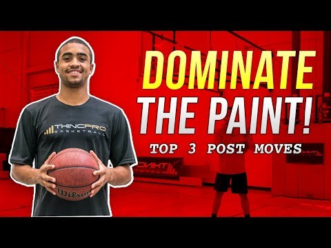 Top 3 SCORING MOVES for POST PLAYERS! | Basketball Scoring Drills