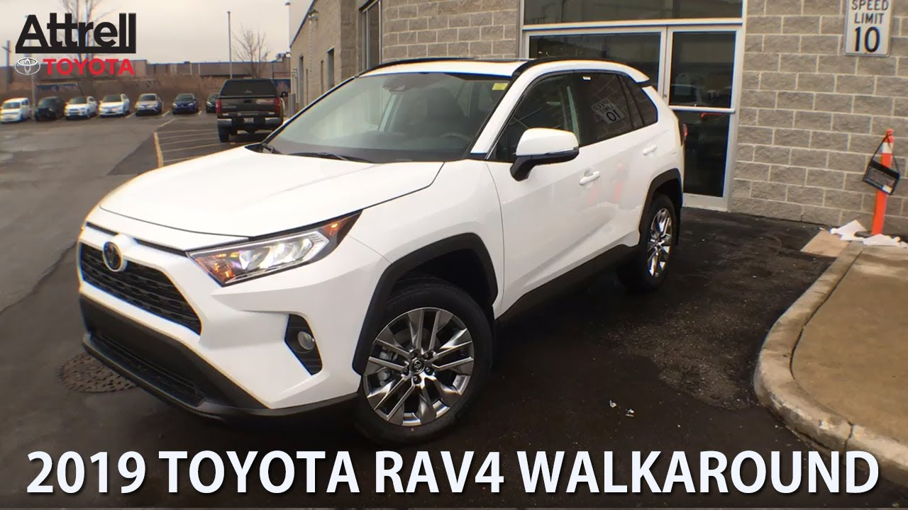 2019 Toyota RAV4 XLE Premium Walkraround - Brampton ON - Attrell Toyota