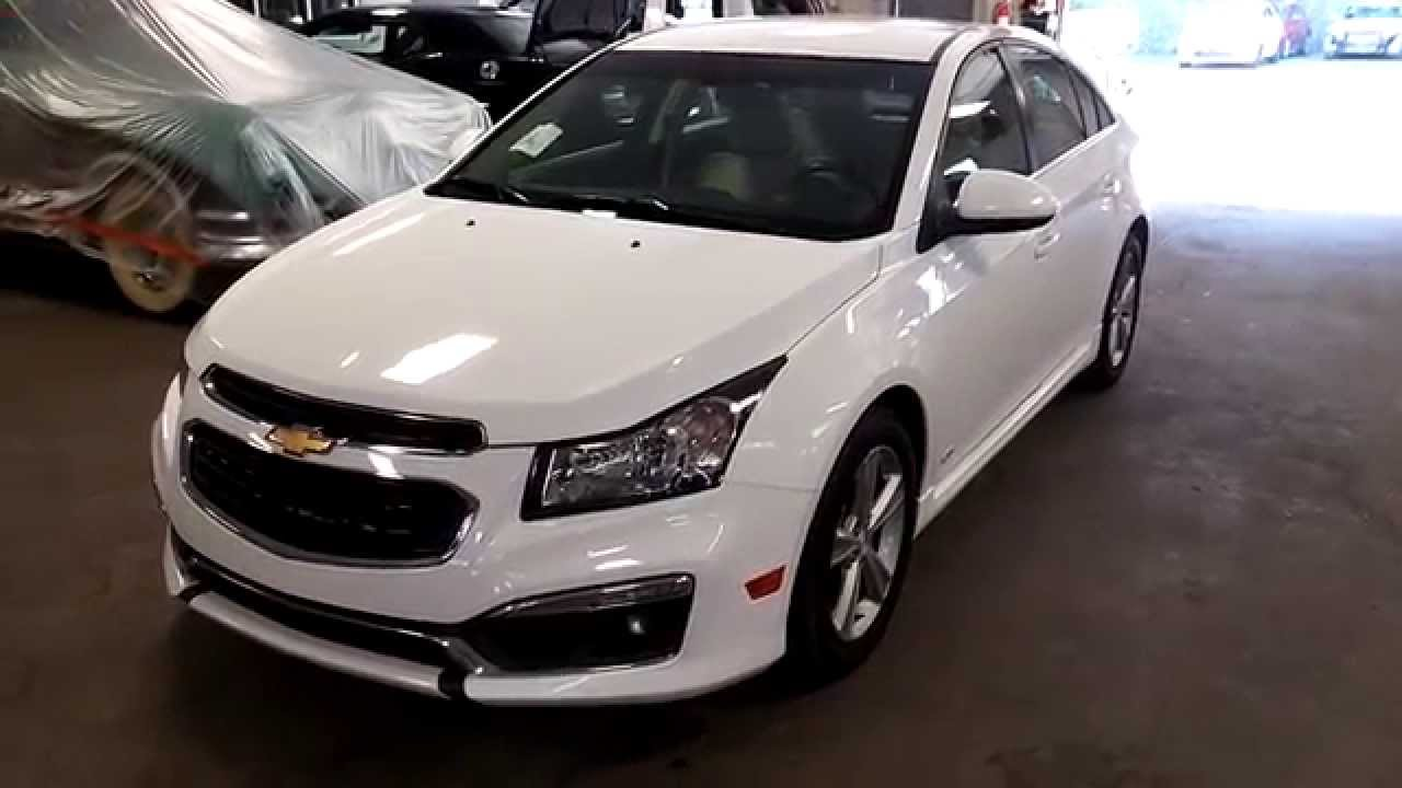Chevy Cruze Lt >> 2015 Chevy Cruze Lt Rs Package