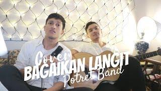 Gambar cover BAGAIKAN LANGIT - POTRET ( COVER BY ALDHI NOVEDO )