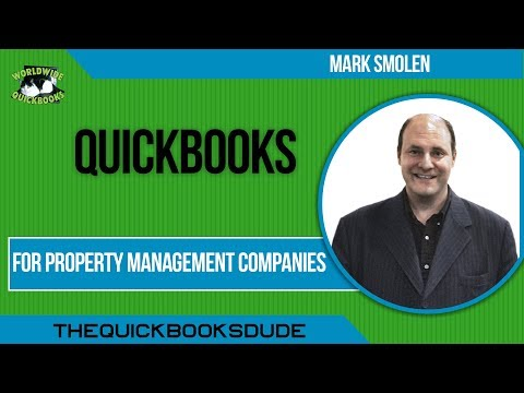 QuickBooks For Property Management Companies